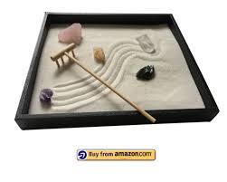 healing crystal zen garden