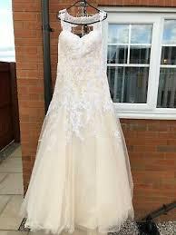 wedding dress size 14 emma charlotte
