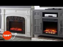 electric fireplaces at big lots you