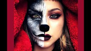 little red riding hood halloween makeup