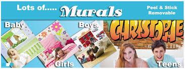 Kids Murals Decorating For Girls Boys Nursery To Teen Rooms Walls