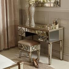 morocco 3 drawer mirror console