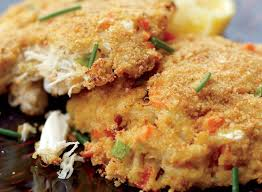 Baked Crab Cake Recipe With Mango ...