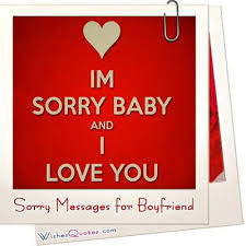 i m sorry messages for boyfriend sweet apology quotes for him