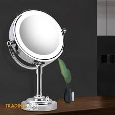 double side makeup mirror 10x