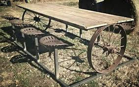Antique Wagon Wheel Ideas Ideas About Wagon Wheels On Pinterest Old Wagons Fence And Wagon Welding Projects Outdoor Tables Welding Art