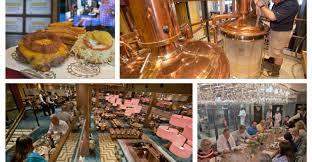 Carnival Vista drinking/dining spots ...