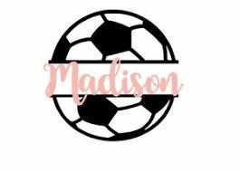 Custom Personalized Soccer Vinyl Decal Sticker 4 Yeti Car Phone Window Ebay