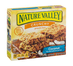 nature valley crunchy coconut granola bars