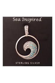 presco sterlingsilver wave necklace