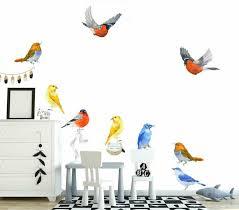 Fitch Birds Wall Sticker Nursery Kids Decor Window Furniture Decal Art Mural Diy Ebay