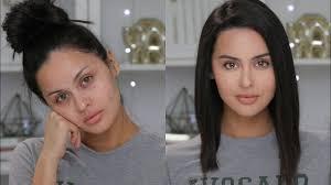 glowy no makeup makeup tutorial