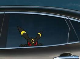 Umbreon Peeker Peeking Window Vinyl Decal Anime Sticker Pokemon Card Eevee Ebay