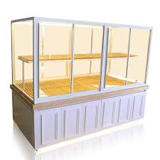 modern design pastry display case