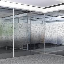 frosted opaque privacy glass sticker