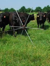 Gallagher Tumble Grazing Wheel 5 Pack G63800 Moveable Electric Fence Cattle Ranching Cattle Cattle Farming