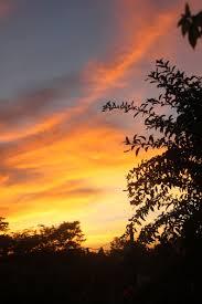 langit senja pamulang tangerang selatan pemandangan fotografi alam