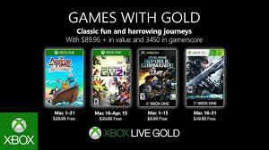 xbox march 2019 games with gold you