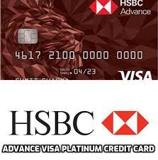hsbc platinum credit card benefits