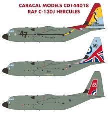 Decal For Raf C 130j Hercules Decal Hobbysearch Military Model Store