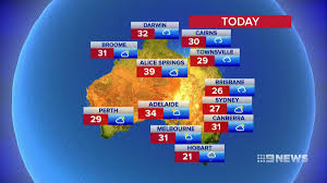 National weather forecast ...
