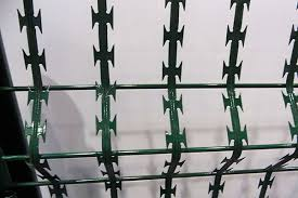 China Excellent Quality High Quality Galvanized Razor Barbed Wire For Sale Razor Barbed Wire Hepeng Factory And Manufacturers Hepeng