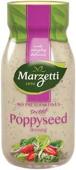 sweet poppyseed salad dressing marzetti