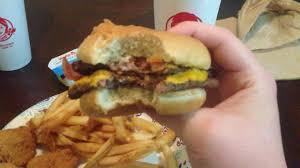 5 giant jr bacon cheeseburger meal at