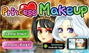 anime princess make up game fun s