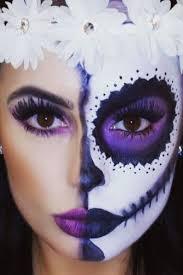 half sugar skull makeup saubhaya makeup