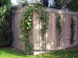 Privacy Fence With Trellis Pergola Ideas Privacy Backyard Fences Fence Design