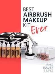 best airbrush makeup reviews kits