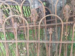 Antique Cast Iron Fence Double Lot Victorian Finial Hair Pin Wrought Iron 1793459534