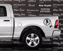 Washington Redskins Decal 2 Truck Decal Car Vinyl Sticker Football Team Graphics Ebay