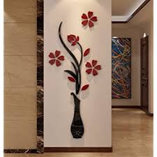 Amazon Com Hermione Baby 3d Vase Wall Murals For Living Room Bedroom Sofa Backdrop Tv Wall Background Originality Stickers Gift Diy Wall Decal Wall Decor Wall Decorations Red 59 X 23 Inches Home