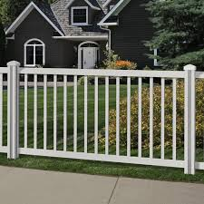 Wambamtraditionalfence 4 Ft H X 7 Ft W Traditional Yard And Pool Vinyl Fence Reviews Wayfair