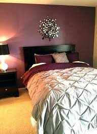 appealing maroon and grey bedroom red
