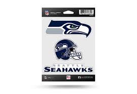 Nfl Football Seattle Seahawks Window Decal Sticker Set Officially Licensed Custom Sticker Shop