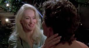 Meryl Streep and Adam Storke