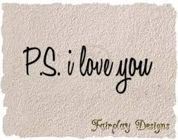 Second Life Marketplace Fda P S I Love You Wall Decal Transparency Modify Transfer