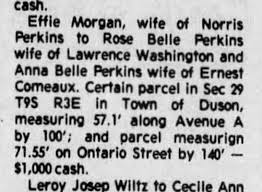 Effie Morgan to Rose Belle and Anna Belle - Newspapers.com
