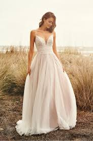 boho chic and romantic wedding gowns