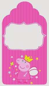 Etiquetas Para Candy Bar De Peppa Pig Hada Para Imprimir Gratis