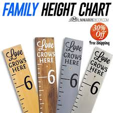 Amazon Com Height Chart For Kids Room Growth Chart For Kids Handmade