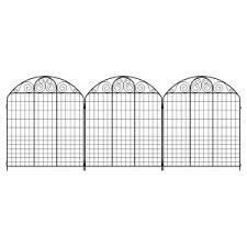 Border Fence Garden Fencing Landscaping The Home Depot