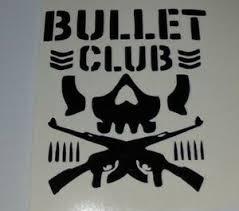 Bullet Club Laptop Car Window Locker Yeti Decal X2 Ebay
