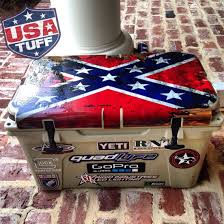 Sweet Pic Of Yeti 65qt With Full Lid Kit From Usa Tuff Quadlyfe Usatuff Cooler Ideas Yeti Cooler Yeti 65 E Cool Wraps