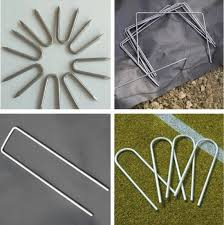 China Fence Staples U Type Nails Barbed Wire For Poultry Farming Equipment China U Type Nail U Type Sod Nail