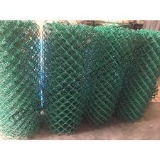Pvc Coated Chain Link Fabric Size 4 Mm Diameter Rs 202 Square Meter Id 18567740830