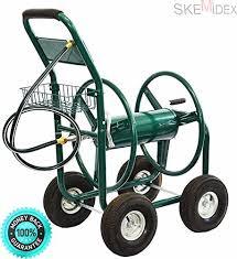 skemidex garden water hose reel cart